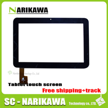 "9"" 9 Inch Capacitive Touch Screen Digitizer Glass Replacement for Tablet PC SANEI N91 AMPE A96 Black TPC0235 Free Shipping(China)"
