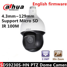 DAHUA  SD59230S-HN  2Mp Full HD 16x Digital Zoom 30x Optical zoom dahua Network IR PTZ Dome Camera