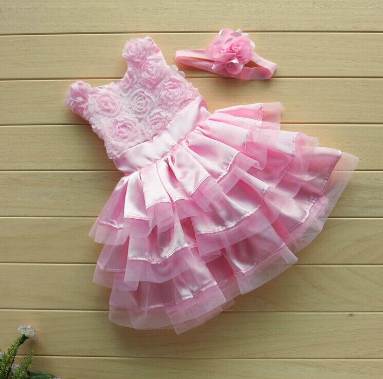 Как сшить платье на годик для малышки из тюли 30
