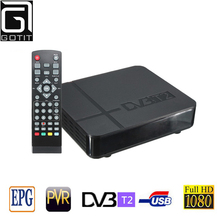 RUSSIA/EUROPE/THAILAND k2 dvb-t2 Tuner MPEG4 DVB T2 HD Compatible With H.264 TV Receiver W/ RCA / HDMI PAL/NTSC Auto Conversion