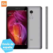 "Xiaomi Redmi Note 4 Qualcomm Snapdragon 625 Octa Core 3GB RAM 32GB ROM mobile phone 5.5"" 1080P 4000mAh battery Fingerprint ID"