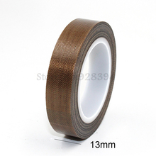 1 Roll High Temperature PTFE Teflon Adhesive Tape 13mm x10meter * 0.13mm(T)
