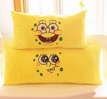 1pcs 60*30 Spongebob pillow cushions washable couple single or double pillows Plush toy Kids birthday gifts Christmas gift(China)