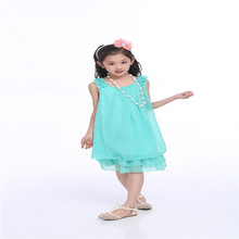 LLCB 05 baby girl clothes kids girl dress children girl beautiful princess party marry wedding design girl wear new arrival