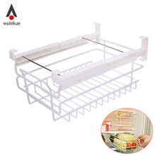 1PCS Refrigerator Fridge Shelving Freezer Rack Fresh Fruit Vegetable Food Partition Drawer Organizer Storage Kitchen Supplies
