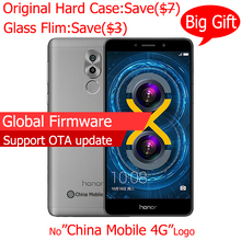 Original Huawei Honor 6X 3G RAM 32G ROM Dual Rear Camera Android 7.0 LTE Mobile Phone Octa Core 5.5 Inch 1920x1080P Fringerprint