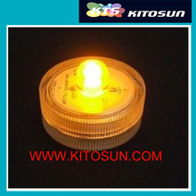 Free shipping 50 pcs/lot kitosun White small battery operated Waterproof Mini led Lights for Crafts(China)