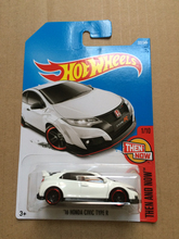 New Arrivals 2017 P Hot Wheels 1:64 16 Honda civic type r Diecast Car Models Collection Kids Toys Vehicle For Children hot cars