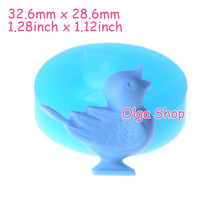 DYL311 32.6mm Swallow Bird Silicone Mold - Animal Mold Cake Decoration, Scrapbooking, Candle, Resin, Biscuit, DIY Handmade Mold