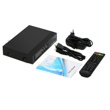 FREE SAT V7 COMBO Full HD 1080P DVB-T2 + S2 Digital Video Broadcasting Receiver Set-up Box with DVB-S / DVB-T for TV HDTV(China)