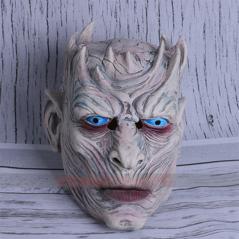 Cosplay Game of Thrones Night's King Walker Face NIGHT RE Zombie Halloween Mask For Adults Throne Costume Party Accessory (2)
