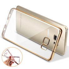Phone Case For Samsung Galaxy S7 Ultra Thin Clear Plating Electroplating TPU soft Back Case Cover For Samsung Galaxy S7 edge