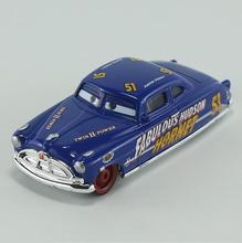 Pixar Cars Diecast Doc Fabulous Hudson Hornet Metal Toy Car For Children 1:55 Loose Brand New In Stock Lightning McQueen