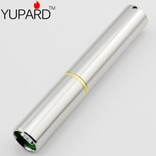 YUPARD Q5 LED mini Torch Light LED Flashlight  500Lms Stainless Shell  1-Mode multipurpose 10440/1*AAA Rechargeable waterproof
