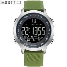Новый GIMTO Цифровой часы Мужчины Смартс СВЕТОДИОДНЫЕ Часы Открытый Военный Повседневная Электроника Часы Фитнес Для Мужчин Женщин Наручные Часы