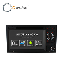Ownice C500 Octa 8 Core 4G SIM LTE ANDROID 6.0  CAR DVD PLAYER for Audi A4 2002-2008 wifi GPS BT Radio 2GB RAM 32GB ROM