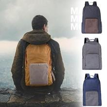 2017 Canvas Men's Backpack Bag Brand 14 Inch Laptop Notebook Mochila for Men Women Back Pack Folding backpack bag P5