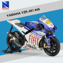 1:12 YAMAHA No.46 Motorcycle Model Valentino ROSSI 2013 Moto GP YZR M1 Diecast Moto For Kids Toys Gifts Collection