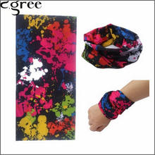 C.gree Tube Bandana Wholesale Seamless Wrist Skull Flower Sunscreen Muffler Veil Head Scarves Multifunctional Bandana 64