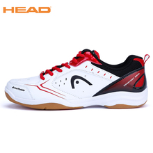 HEAD 2017 Men's Light Lace-up Badminton Shoes for Men Training Breathable Anti-Slippery Tennis Sneakers Professional Sport Shoes(China)