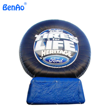 Z145 most popular advertising inflatable tire model, inflatable tire balloon to increase tire with air blower for sales(China)