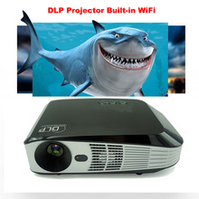 Smart 3D HD Projector with Android Operating System, High Speed Wi-Fi & Bluetooth DLP Multimedia, with HDMI/VGA/USB/AV Inputs