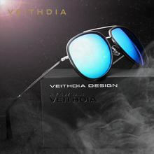 VEITHDIA Brand Fashion Sun Glasses Polarized Color Coating Mirror Sunglasses Male Oculos masculino For Men/Women 2725(China)