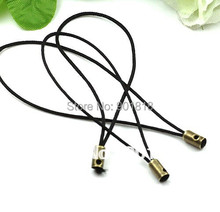 100pcs/lot New Black Cell Phone Strap Lariat Lanyard Cord  Jewelry Findings 5cm F697