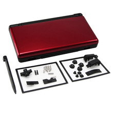 Red plus black Full Repair Parts Replacement Housing Shell Case Kit for Nintendo DS Lite NDSL