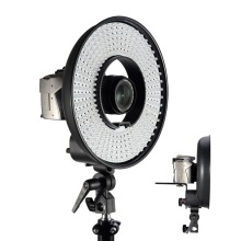 FALCON EYES DVR-300DVC 300 Ring LED Panel 5600K Lighting Video Film Continuous Light for DSLR Photography