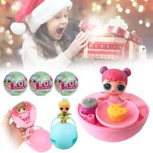 3Pcs LOL Surprise Doll Surprise Inside Series 1 L.O.L Ball Xmas For Kids Funny Egg Ball Doll Unpacking Surprise Dolls Girls Toys