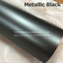 New Arrival Black Matte Chrome Vinyl Car Wraps Sticker Color Changing Car Sticker Metallic chrome black vinyl film by free ship