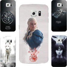 Game Of Throne House Stark Lannister Targaryen Hard PC Painting Case For Samsung Galaxy S6 S7 Edge Plus Cell Phone Printed Cover