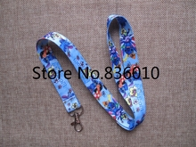 Hot Sale! 10 pcs Popular Stitch  Key Chains Mobile Cell Phone Lanyard Neck Straps   Favors SZ-171