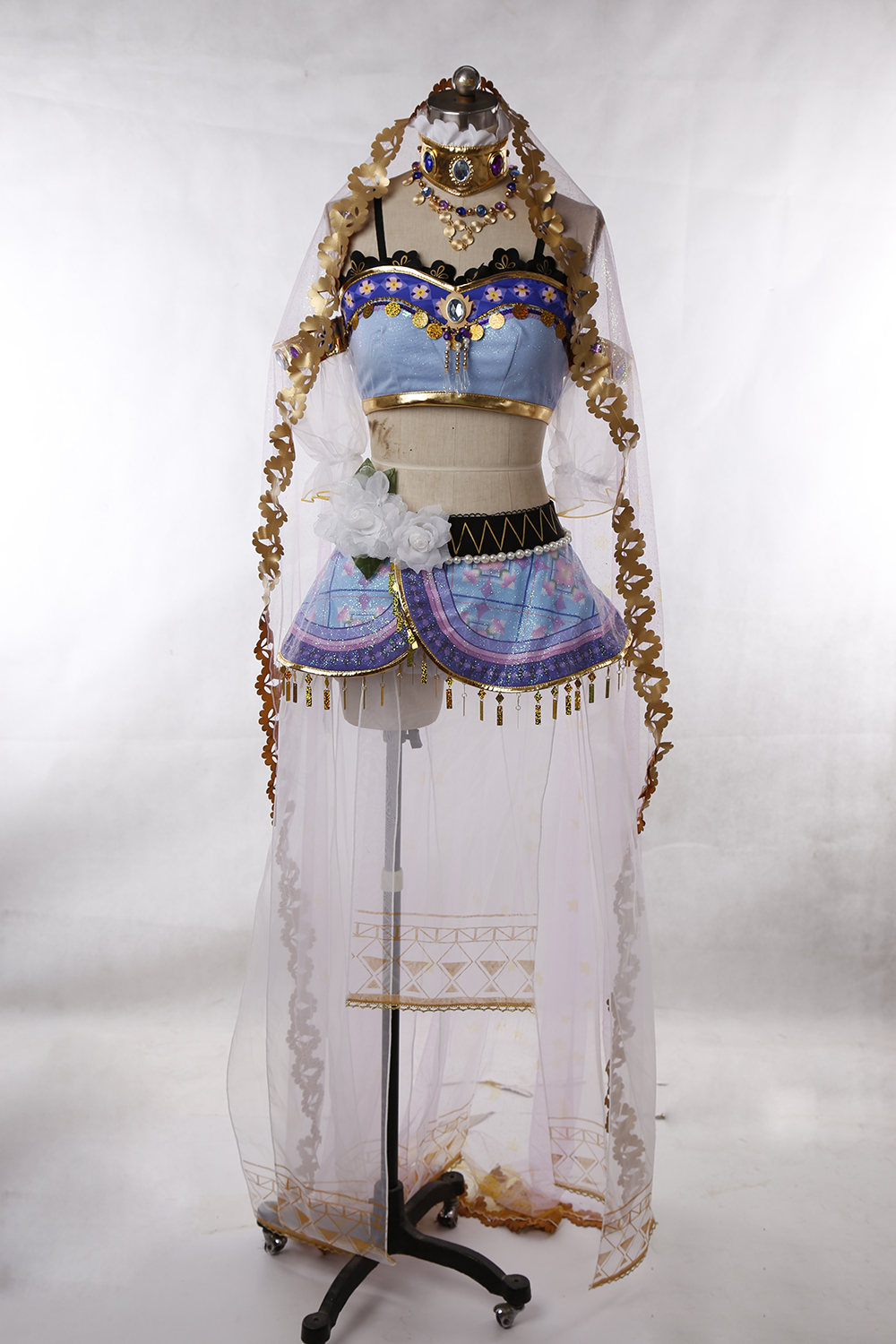 Love Live Arab Dancers Ayase Eli Cosplay Costume Custom Made Any Size