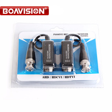 5Pair HD 720P/1080P AHD HDCVI HDTVI BNC Connector To UTP Cat5/5e/6 Video Balun Passive Transceivers Transmitter 200m(China)