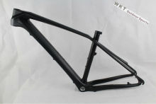 26er carbon mountain bike frame,cheap 26er mountain frame 15.5',17'  including the BB BSA and headset