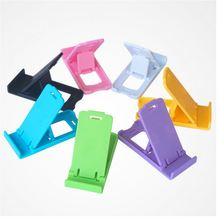 Computer Accessories Universal Foldable Adjustable Holder Cradle For Mobile Phone Tablet pc Stand Drop Shipping. Charger Plastic(China)
