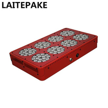 LAITEPAKE  Apollo 8 600W LED Grow Light kit Full Spectrum With  Lens Pants Grow Faster Flower Bigger  High Yield Hot style