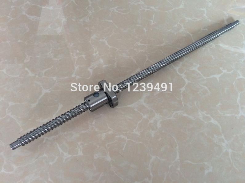 sfu1204  rolled ballscrew 2pcs Ball screws  330mm + 2pcs  single ballnut for  cnc parts<br>
