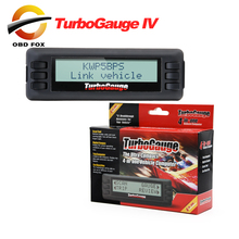 2017 Top selling Newest TurboGauge IV Auto trip Computer Scan Tool Digital Gauge 4 in 1 100% original free shipping