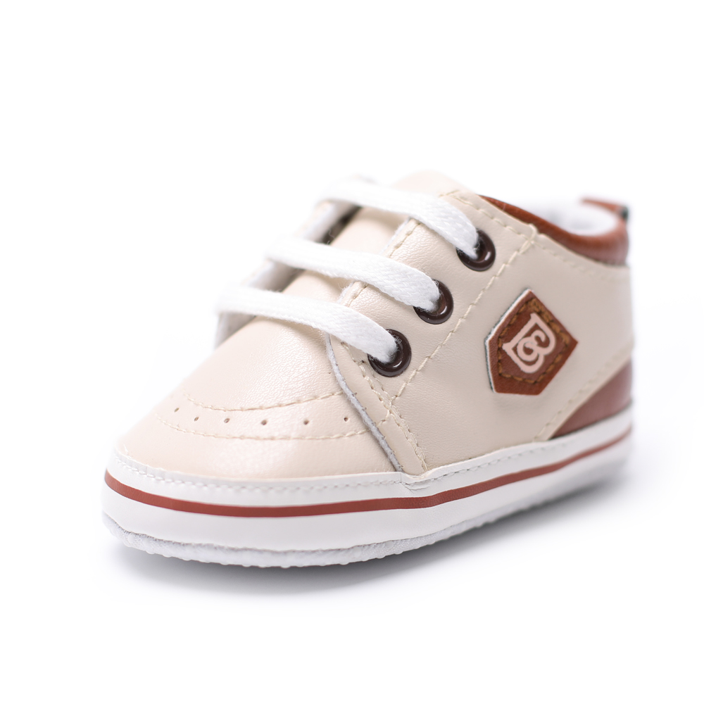 Newborn Baby Casual Infant Shoes Cute Spring Toddler Kids Anti-skid Lace Up Infant Baby Shoes 0-18 Months