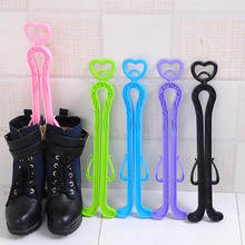 Boots Knee High Shoes Clip Support Stand Rack Holder Arm Organizer Home Storage Shoe Rack Long Boots Stays Folder perchero(China)