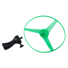 ABWE Best Sale Funny Red Blue Green LED Light Up Flying Disc Toy