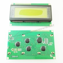 1pcs LCD 2004 20x4 Character LCD Display Module HD44780 Controller Green screen backlight forarduino