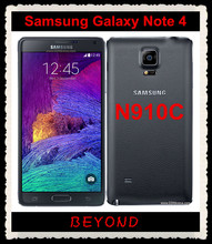 "Samsung Galaxy Note 4 N910C Original Unlocked GSM 4G LTE Android Mobile Phone Octa Core 5.7"" 16MP RAM 3GB ROM 32GB Exynos(China)"