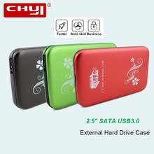 "CHYI HDD Drive Disk 2.5"" SATA USB 3.0 Portable External Hard Drive HDD Case 1TB Hard Disk Adapter Storage Devices For Laptop(China)"