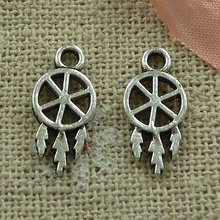 720 pieces tibetan silver nice charms 15x7mm #2796