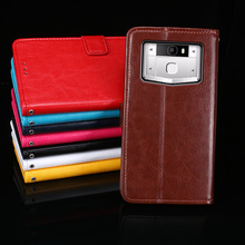 For Oukitel K10000 Pro Case 5.5'' Business Style Wallet Leather Flip Phone Fundas Cover for Oukitel K10000 Pro Case Accessories