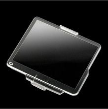 10pcs/lot Hard Plastic Film LCD Monitor Screen Cover Protector for N D7000 BM-11 free shipping